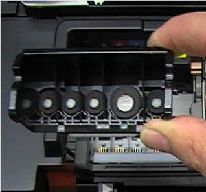 cleaning a Canon Print Head